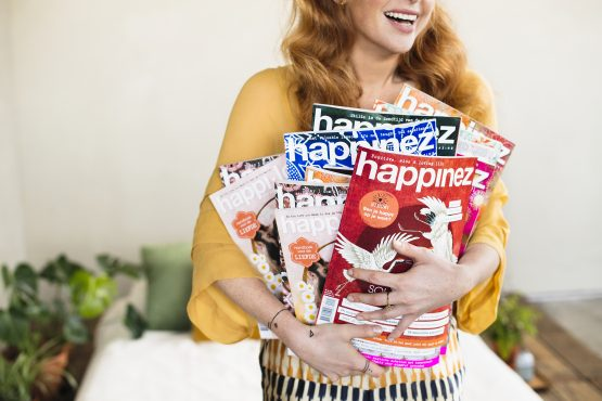 Subscription: 4x Happinez Magazine